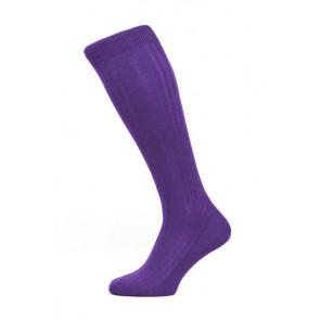 Pantherella Socken OTC - Rippenstruktur Crocus