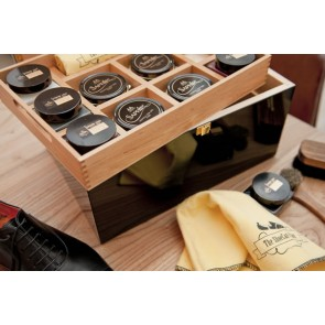 Shoe care valet Walnut Saphir Exclusive