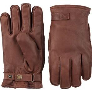 Hestra Gloves Deerskin Wool Terry - Chestnut
