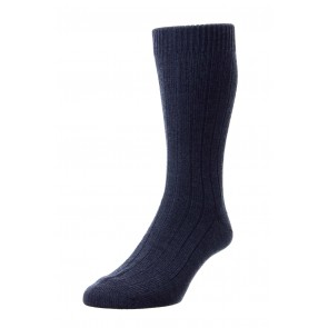 Pantherella Socks - Rib Charcoal