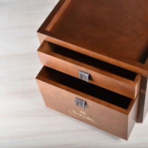 Shoe care valet Walnut SCS