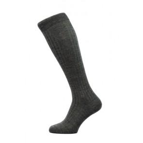 Pantherella Socken OTC - Rippenstruktur Kohle