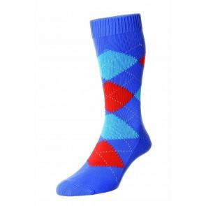 Pantherella Socken - Turnmill Blue Surf